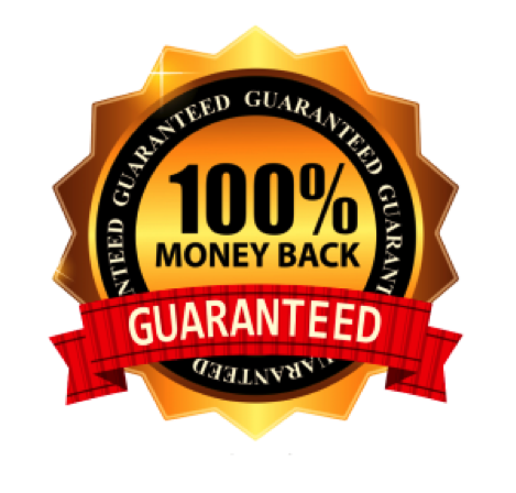 100% Money Back Guaranteed graphic